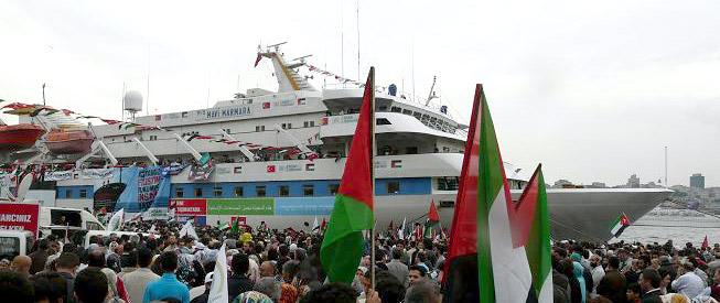 Mavi Marmara, kapal utama yang digunakan oleh Kafilah Freedom Flotilla. Foto: Sahabatalaqsha.com & Hidayatullah.com