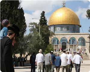 Pemukim Zionis Serbu Halaman Masjidil Aqsa