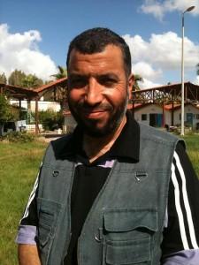 Ditemukan: Mustafa Nasywan, muazzin Mavi Marmara ikut konvoi Viva Palestina 5 ke Gaza. Foto: Sahabat Al-Aqsha.