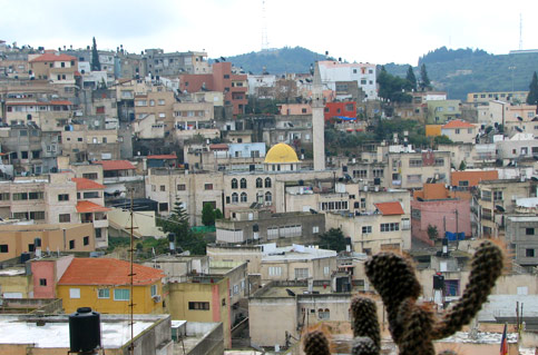 Kota Umm al-Fahm. Foto: IMEMC