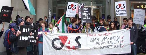Dari Rabat sampai London, Kampanye Boikot G4S Menggema. Di Indonesia?