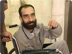 Samer Al-Issawi, tawanan Palestina yang lakukan mogok makan terpanjang dalam sejarah manusia, 9 bulan, berhasil memaksa penjajah zionis membebaskannya, in syaa' Allah, hari ini. foto: PIC