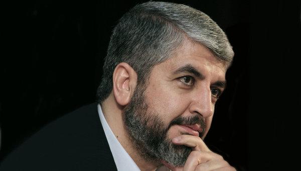 Khalid Misy'al, Kepala Maktab Siyasi (Biro Politik) Hamas. foto: Rianovosti