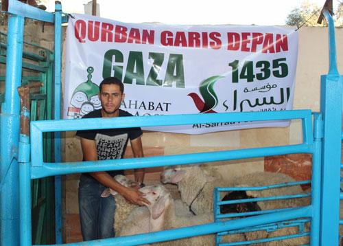 Persiapan. Foto: Sahabat Al-Aqsha/Al-Sarraa Foundation
