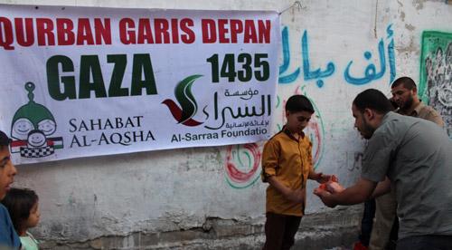 Kalau rumahnya dihancurkan penjajah Zionis..? Foto: Sahabat Al-Aqsha/Al-Sarraa Foundation