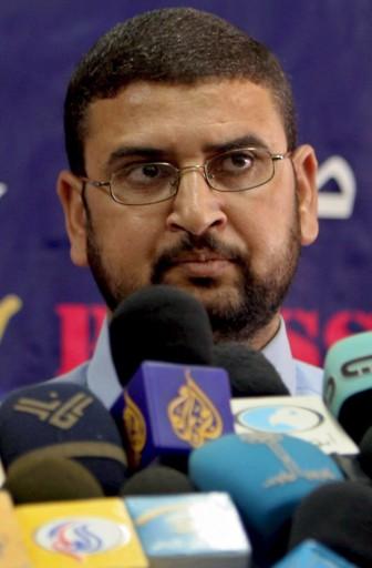Sami Abu Zuhri, Jurubicara Hamas di Gaza. foto: EPA