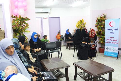 Begitu diresmikan, Poliklinik 'Indonesia Ikhlas' langsung melayani masyarakat Gaza. Foto: Sahabat Al-Aqsha