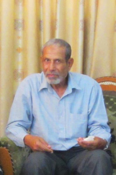 Abu Wail Abu Ahmad Syusya, Gaza, April 2012. Foto: Sahabat Al-Aqsha