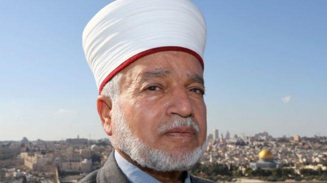 Mufti Al-Quds Muhammad Hussain. Foto: Press