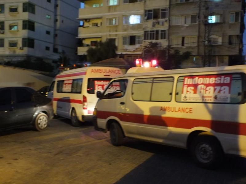Proyek 16 (ambulans Gaza)