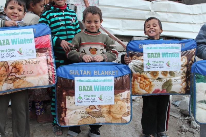 Proyek 20 (selimut Gaza Winter)
