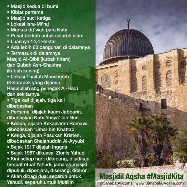 Poster Masjidil Aqsha (27 Agustus 2016)