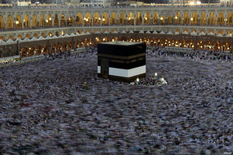 Jamaah haji di Makkah. Foto: Dokumentasi MEMO