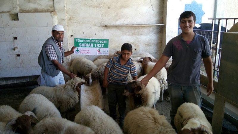 Foto: Sahabat Al-Aqsha|Sahabat Suriah
