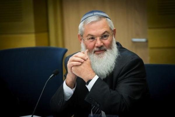 Wakil Menteri Pertahanan Eli Ben Dahan. Foto: Flash90