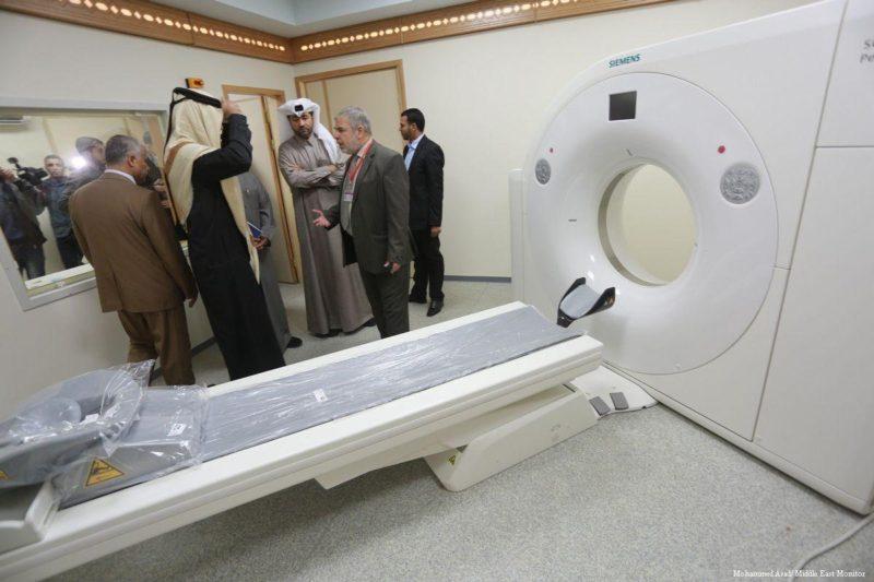Delegasi Qatar di Gaza akan meluncurkan sejumlah proyek. Foto: Mohammed Asad/Middle East Monitor