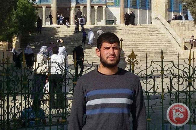 Ibrahim Mahmoud Matar (25), asal Jabal al-Mukabbir ditembak saat akan shalat subuh di Masjidil Aqsha. Foto: Ma'an News Agency