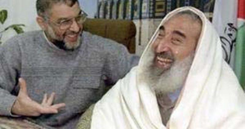 Al-Rantisi dan Syaikh Ahmed Yassin berada di sel yang sama saat ditawan di penjara Zionis. Foto: PIC