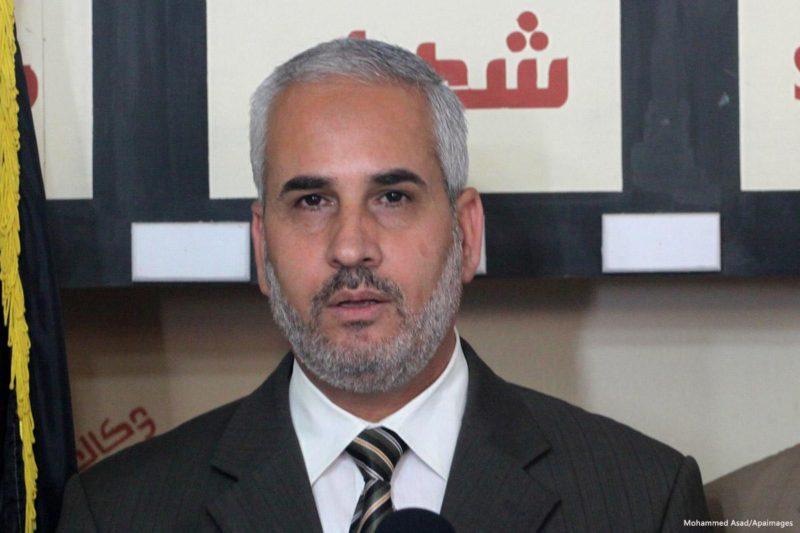 Fawzi Barhoum, juru bicara Hamas. Foto: Mohammed Asad/Apaimages