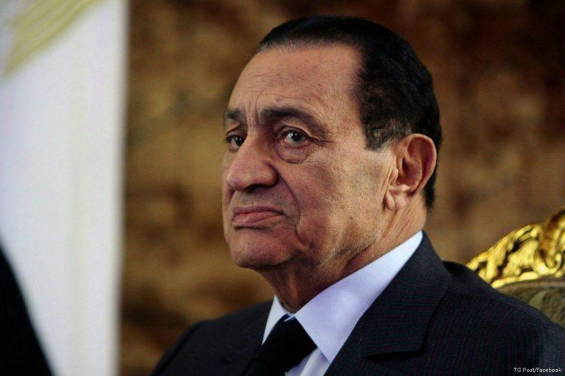 Presiden Mesir yang digulingkan, Husni Mubarak. Foto: TG Post/Facebook