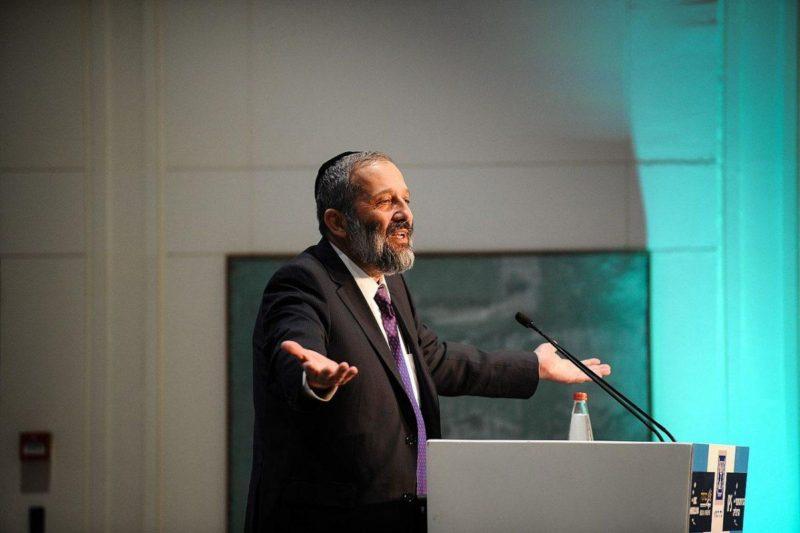 Menteri Urusan Publik 'Israel', Aryeh Deri. Foto: Adi Cohen Zedek/Wikimedia