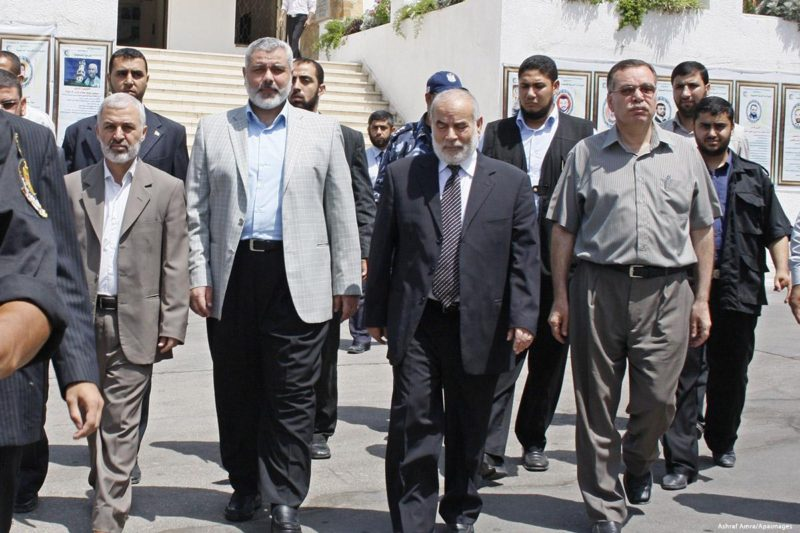 Para pemimpin senior Hamas. Foto: Ashraf Amra/Apaimages