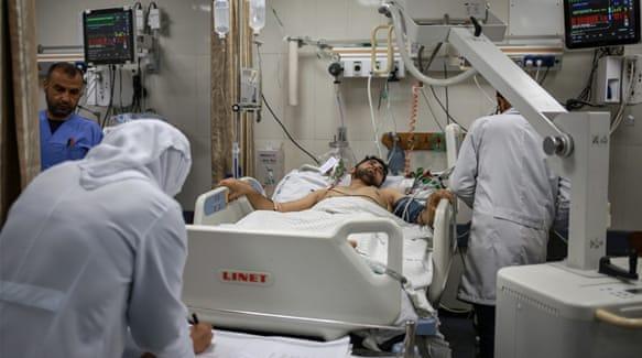 Rumah sakit di Gaza mengalami kekurangan pasokan medis karena blokade 'Israel' di kawasan itu selama 12 tahun. Foto: Hosam Salem/Al Jazeera