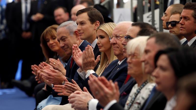 Penjajah Zionis menyatakan seluruh 86 negara yang memiliki misi diplomatik dengan 'Israel' diundang pada acara pembukaan Kedubes AS di Baitul Maqdis. Foto: Ronen Zvulun/Reuters
