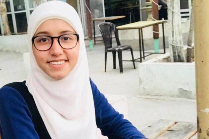 Mahasiswi Palestina, Ola Marshoud (21). Foto: MEMO
