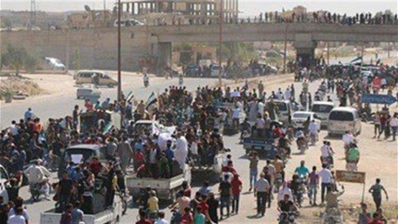 Damaskus, didukung oleh Rusia dan Iran, telah menyiapkan serangan besar-besaran untuk merebut kembali Idlib dan daerah-daerah sekitarnya di barat laut Suriah dari mujahidin. Foto: Middle East Monitor
