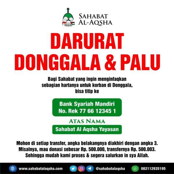 Poster TSUNAMI PALU