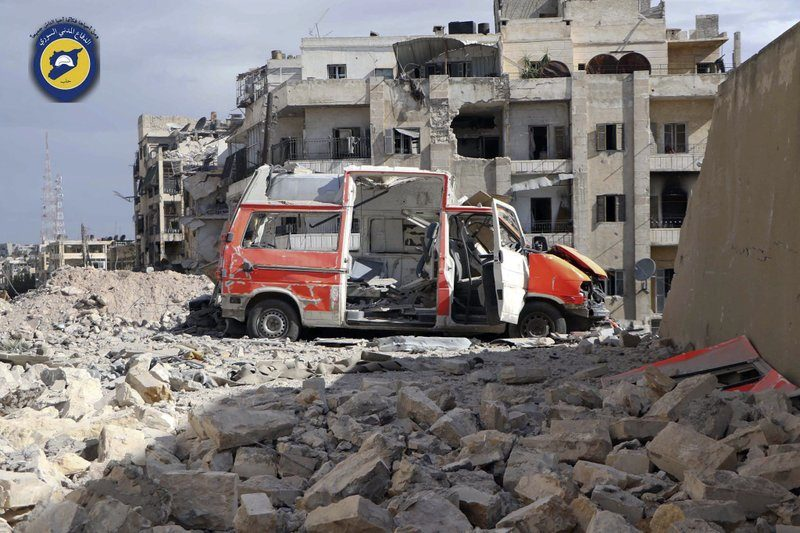 Foto: White Helmets via AP, dokumentasi