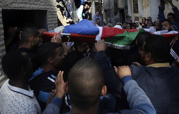 Ihbali ditembak dengan peluru tajam di kepala dan area sekitar paha. Foto: AFP