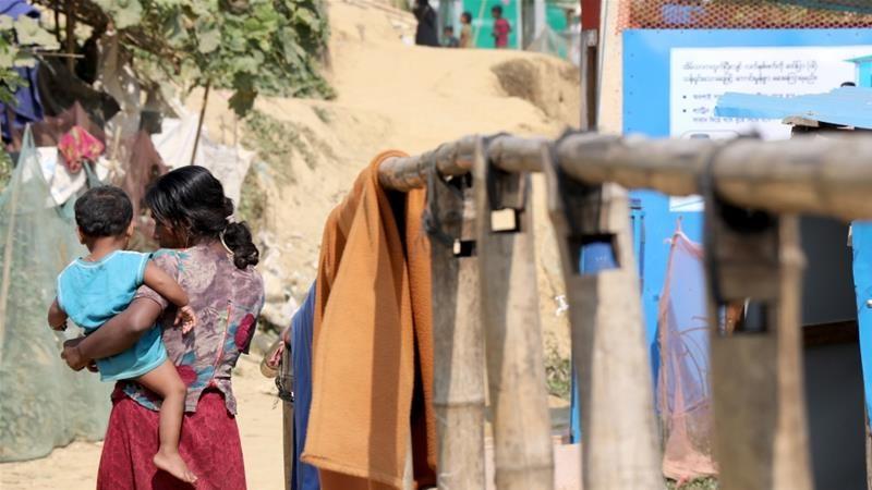 Serangan terhadap warga Rohingya pada 2017 mengakibatkan ribuan orang tewas dan memaksa lebih dari 700.000 orang melarikan diri ke Bangladesh. Foto: Kaan Bozdogan/Arsip Anadolu Agency