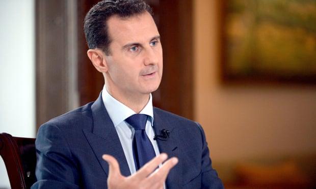 PBB mengatakan harus bekerja dengan rezim Suriah, yang dipimpin Bashar al-Assad, agar bisa membantu warga sipil yang lemah. Foto: Sana Handout/EPA
