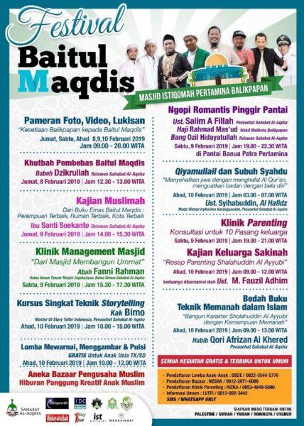 Festival Baitul Maqdis di Balikpapan (11 Februari 2019) - 1