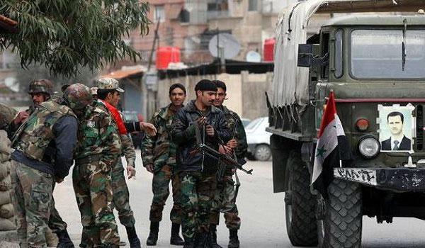 Tentara rezim Suriah. Foto: Dokumentasi Middle East Monitor