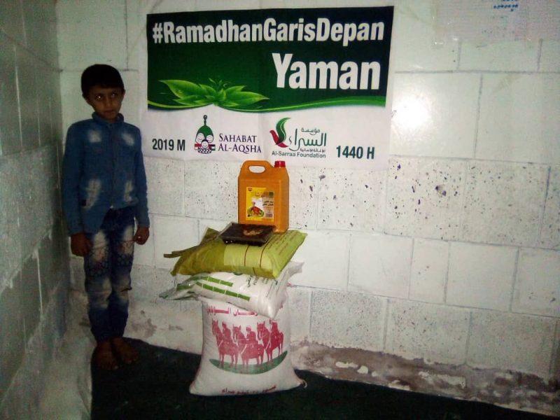Terima kasih Indonesia untuk kesetiaannya menemani keluarga-keluarga Yaman kita menghadapi ujian berat. In syaa Allah akhirnya kebaikan. Foto: Sahabat Al-Aqsha