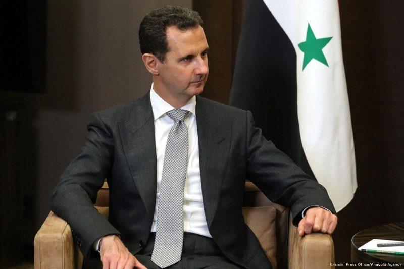 Presiden Suriah Bashar Al-Assad di Sochi, Rusia, pada 21 November 2017. Foto: Kremlin Press Office/Anadolu Agency