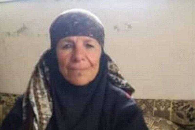 Maryam Al-Shalat, seorang wanita Suriah, dieksekusi oleh tentara rezim karena menolak meninggalkan rumahnya pada 1 September 2019. Foto: Twitter