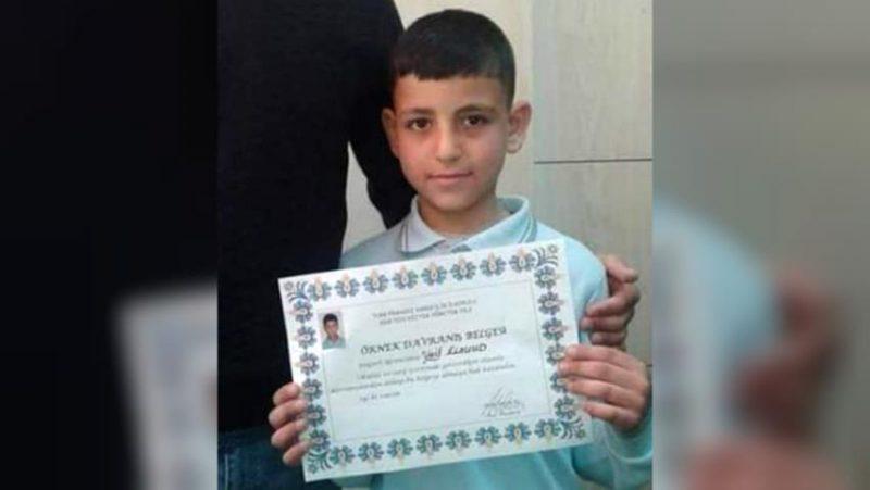Para aktivis menyatakan, rasisme anti-pengungsi telah membunuh bocah Suriah berusia sembilan tahun, Wael al-Saud. Foto: Twitter via The New Arab