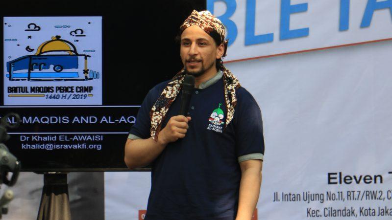 Dr. Khalid El-Awaisi, Direktur Eksekutif IslamicJerusalem Research Academy (ISRA). Foto: Sahabat Al-Aqhsa