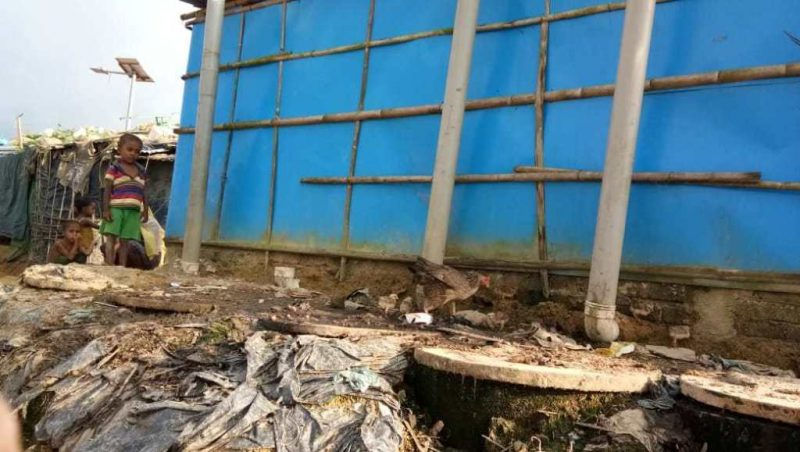 Kamp 11, Blok B-2. Foto: Rohingya Vision
