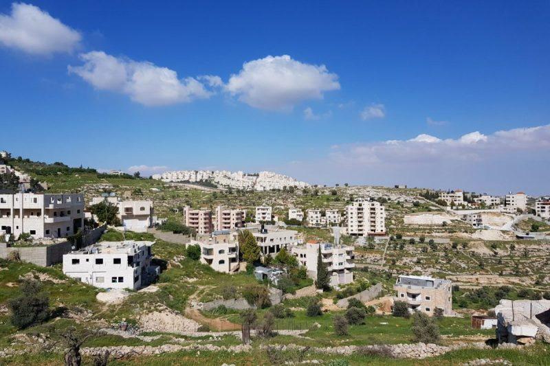 Permukiman ilegal 'Israel' Har Homa di Bayt Lahm. Sumber: Middle East Monitor