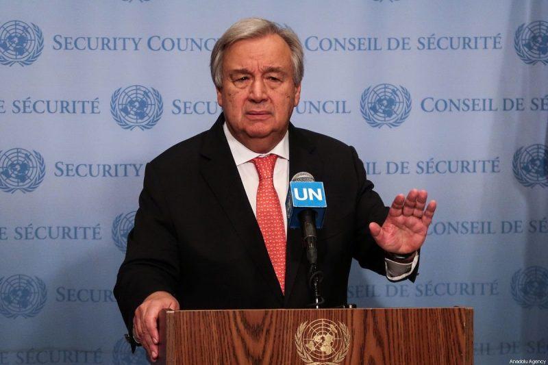 Sekjen PBB Antonio Guterres. Foto: Atilgan Ozdil/Anadolu Agency