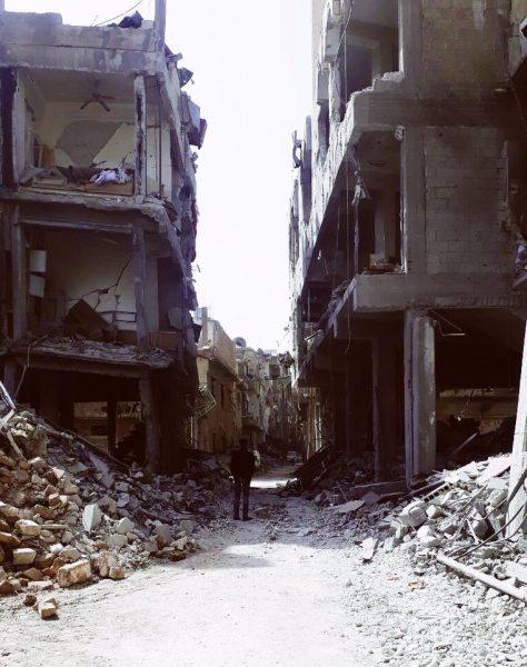 Hari terakhir di Douma, 2018.