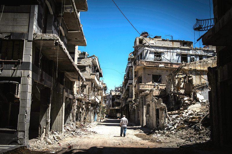 Kota Homs yang dilanda perang di Suriah (Photo: Chaoyue ?? PAN ?)