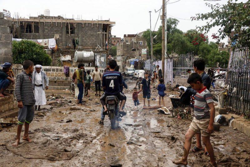 Sanaa, Yaman pada 7 Agustus 2020. Foto: Mohammed Hamoud/Anadolu Agency