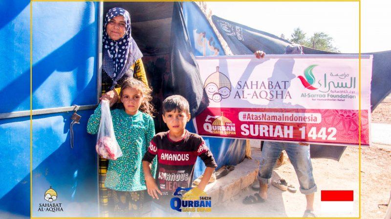 Berita 2294 (25 Juli 2021).jpg - Laporan QurbanGarisDepan1442 - Suriah 4