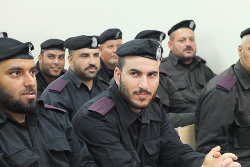 Salam Polisi Palestina untuk Polisi Indonesia